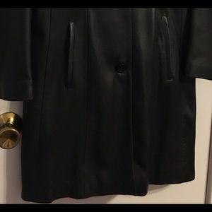 Oakwood Jackets & Coats - Black Leather Full Length Coat